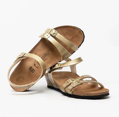Papillio By Birkenstock LANA 1013062 (Nar) Ladies Birko-Flor Two Strap Sandals • 70£