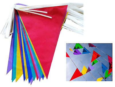 £1.99 • Buy 33 Feet 20 Flags Multi Colour Banner Bunting Party Event Home Garden Decoration.