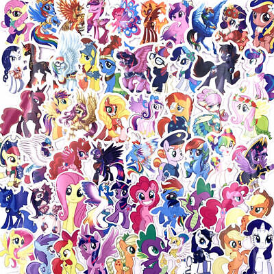 92pcs My Little Pony Stickers Princess Unicorn Cartoon Sticker For Car Moto Wall • 7.95£