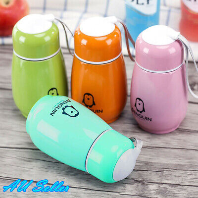 AU13.38 • Buy 300ML Mini Color Stainless Steel Vacuum Flask Thermos Travel Mug Coffee Car Cup