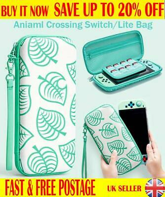 For Nintendo Switch/Switch Lite Case Animal Crossing Travel Protective Bag CF UK • 8.85£