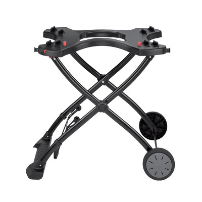 $ CDN136.30 • Buy Weber Gas Grill Rolling Cart Stand Portable Rolling Wheels Q 1000/2000 Camping