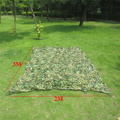 2mx3m Woodland Camouflage Netting Hunting/Shooting Hide Army Military Camo Net  • 11.99£