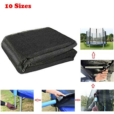£71.84 • Buy REPLACEMENT TRAMPOLINE SAFETY NET ENCLOSURE SURROUND 6FT-16FT 6Pole-12Pole