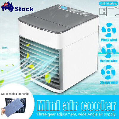 AU21.99 • Buy NEW Portable Personal Mini Air Conditioner Cool Cooling For Bedroom Cooler Fan