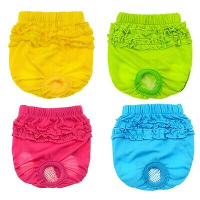 Female Dog Nappies Diapers Sanitary Panties Season Heat Pants Underwear Nappy UK • 3.29£