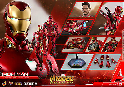 $ CDN614.68 • Buy Hot Toys Iron Man Mark L 50 Avengers Infinity War 1/6 Scale Figure Tony Stark
