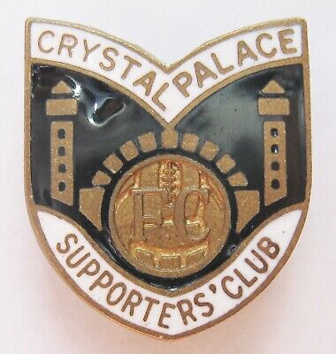 £12.49 • Buy CRYSTAL PALACE - Vintage Supporters Club Enamel Football Pin Badge