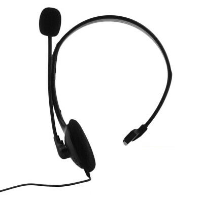 Single-Sided Business Headset For Skype Chat Online Conference Monaural 3.5mm EV • 6.02£