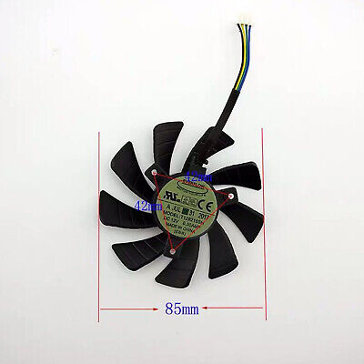 $ CDN11.16 • Buy T129215SH Graphics Card Cooling Fans For GeForce GTX 1060 Mini 3GB ITX 12V 0.3A
