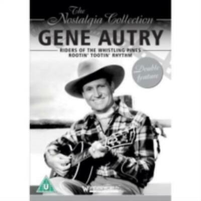 GENE AUTRY: RIDERS OF THE WHISTLING PINES & ROOTIN (Region 1 DVD,US Import.) • 10.99£