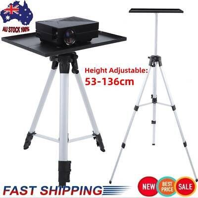 AU36.31 • Buy Laptop Projector Workstation Tripod Stand Adjustable Height With Tray Up To 6KG
