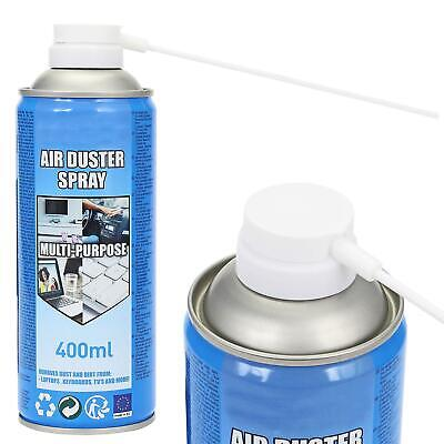£6.95 • Buy 400ml COMPRESSED AIR DUSTER CLEANER SPRAY CAN CANNED LAPTOP KEYBOARD MOUSE