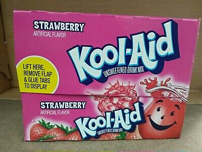 Kool Aid Strawberry Flavor 48 Sachets • 28.99£