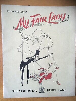 £9.50 • Buy Collectable Theatre Programme  My Fair Lady  1958