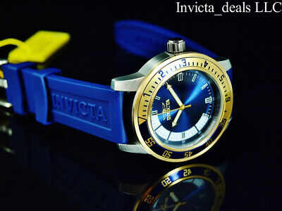 £40.97 • Buy Invicta Men's 45mm Specialty RACER Quartz Gold & Blue Tone Stainless Steel Watch