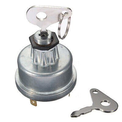 Diesel Tractor Digger Plant Ignition Switch 2 Key For Massey Ferguson 35670 / • 5.75£
