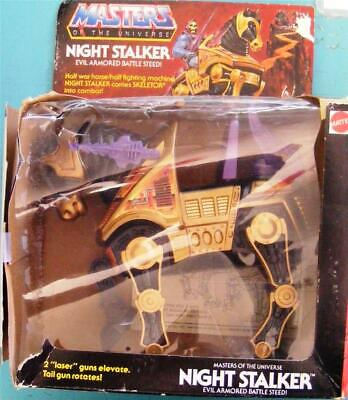 $69.99 • Buy Motu 1984 Night Stalker Evil Armored Battle Steed Masters Of The Universe In Box