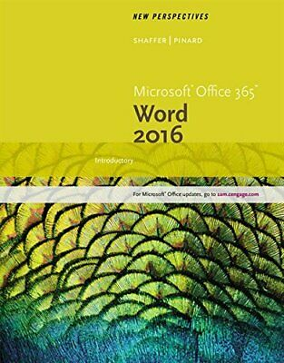 AU71.91 • Buy New Perspectives Microsoft Office 365 & Word 2, Shaffer, Pinard,.