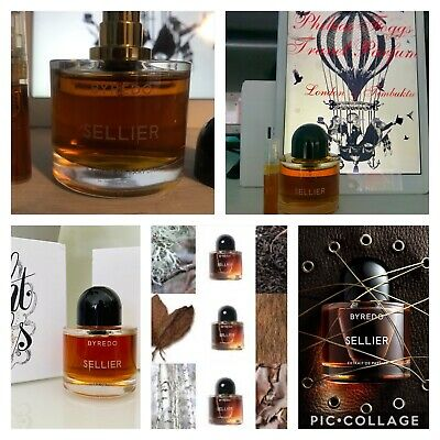 AU14.82 • Buy BYREDO SELLIER EXTRAIT 2ml  WITH SCENT CARD + FREE BAL D'AFRIQUE