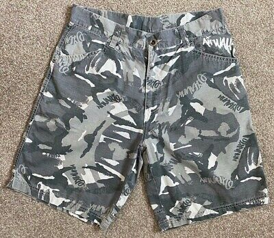Fantastic Airwalk Cammo Chino Skateboard Shorts S Small Suit 30 - 32 W  • 24.99£