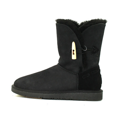AU69 • Buy Duffle Medium Ugg Boot Women's AUS Sheepskin Water Resistant- Black