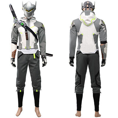 AU145.70 • Buy Overwatch 2 OW Shimada Genji Cosplay Hoodie Trousers Halloween Outfit Full Set