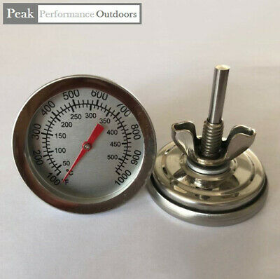 DIY BBQ Thermostat Heat Dial For Oven, Smoker Smith Furnace Temperature Gauge UK • 5.99£