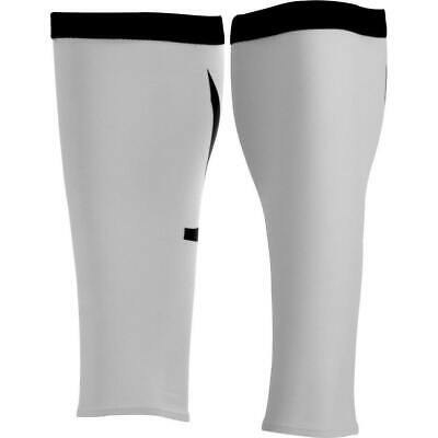 £10.89 • Buy Orca Compression Calf Guards White Seamless Anti Fatigue Aids Recovery Running