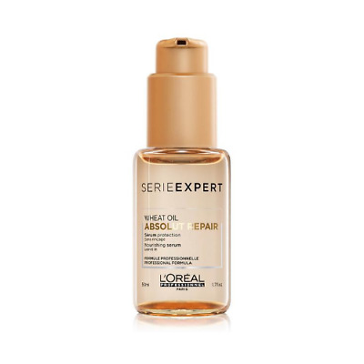 L'Oreal Serie Expert Wheat Oil Absolut Repair Nourishing Leave-in Serum 50ml • 29.99£