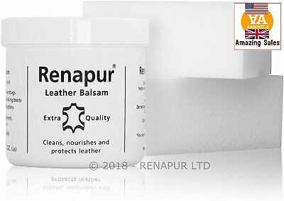 Renapur Leather Balsam 200ml Treatment Protection Waterproof Restore Soft Colour • 17.78£