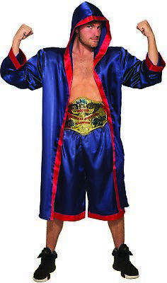 £17.42 • Buy Heavy Weight Champ Mens Adult Pro Boxer Sports Halloween Costume