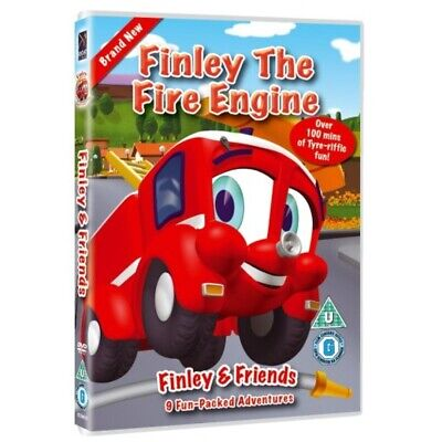 Finley The Fire Engine DVD • 11.99£