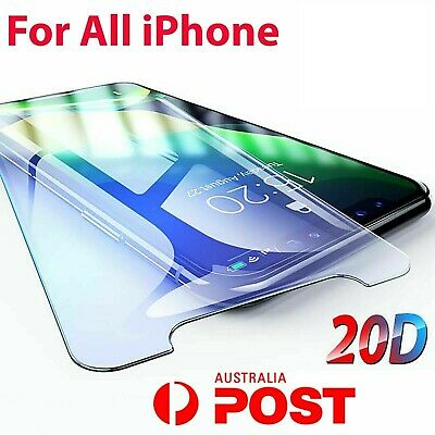 AU3.85 • Buy IPhone 11 PRO XR XS XS Max X 7 8 6S Plus SE 4 5 Tempered Glass Screen Protector