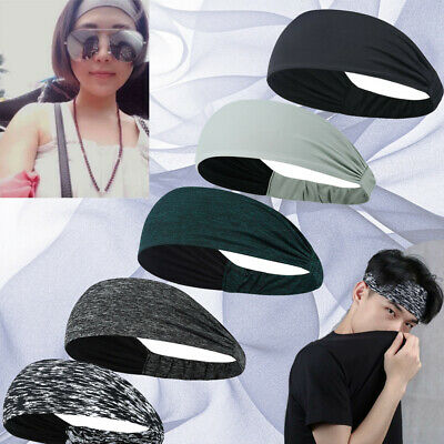 $7.99 • Buy Lot Women Casual Wide Sport Yoga Headband Hairband Elastic Hair Band Accessories