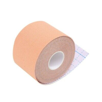 5CM X 5M Athletic Muscle Tape Kinesiology Physio Strapping Sport Body Knee • 3.79£