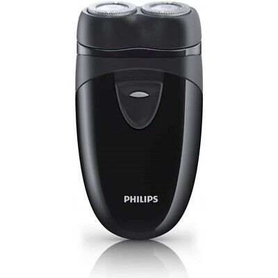 Philips Travel Shaver With Twin Rotary Heads And Travel Pouch UK Plug • 22.99£