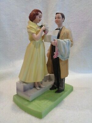 $ CDN26.80 • Buy NORMAN ROCKWELL  Porcelain Figurine   The First Prom  Vintage 1981 Dave Grossman