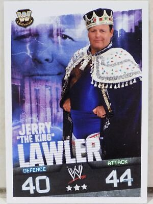 Wwe Jerry The King Lawler Topps Slam Attax Evolution Wrestling Card 2009 Wwf • 2.50£
