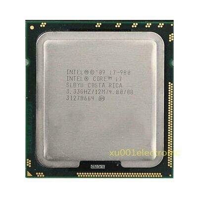 $ CDN99.15 • Buy INTEL Cores I7-980 3.33GHZ/12MB 4.8GT/s LGA1366 SLBYU CPU Processor