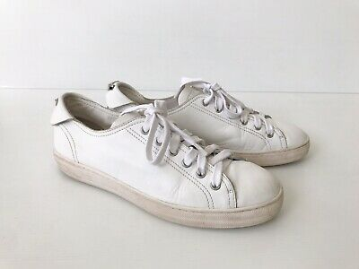 AU40 • Buy Manning Cartell DoF White Leather Sneakers - Made In Italy - Size 37 (6.5 To 7)