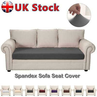 1/2/3 Sofa Seat Cover Protector Elastic Slipcover Settee Seater Couch Stretch UK • 7.19£
