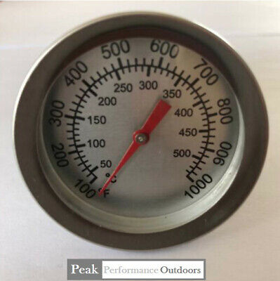UK DIY BBQ Thermostat Heat Dial For Oven, Smoker Smith Furnace Temperature Gauge • 5.99£