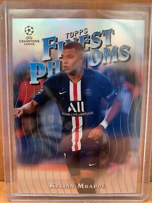$ CDN4 • Buy Kylian Mbappe Topps Finest Phenoms Champions League 2020