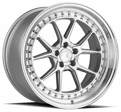 $ CDN270.81 • Buy One 18x9.5 Aodhan DS08 5x114.3 +22   Flow Forged   Machined Silver Wheel