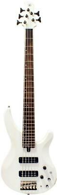 $ CDN469.86 • Buy Yamaha Trbx505 Translucent White 5-string Ygd H5 Alnico Hh Electric Bass Guitar