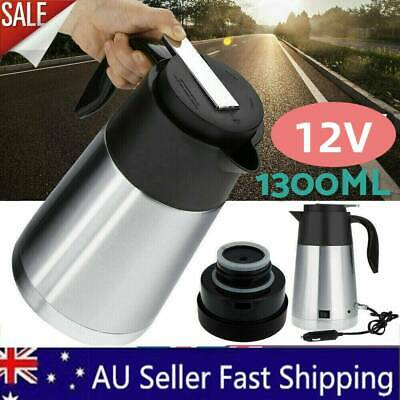 AU35.99 • Buy 12V 1300ml Portable In-Car Truck Stainless Steel Kettle Travel Camping Bottle AU