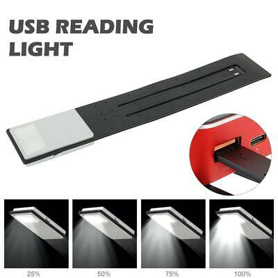AU13.99 • Buy LED USB Rechargeable Reading Light Kindle Book Lovers With 4-Grade Brightness