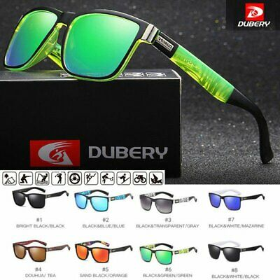 AU12.46 • Buy DUBERY Mens Polarized Sport Sunglasses Outdoor Riding Fishing Summer Goggles AU