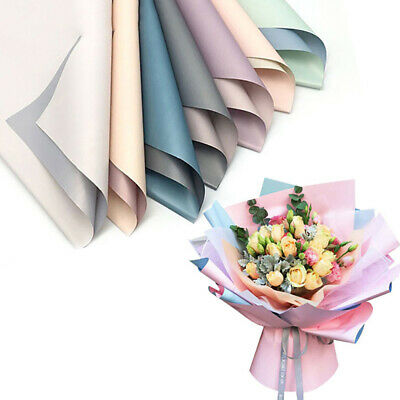 UK Waterproof Translucent Paper DIY Flower Bouquet Wrapping Paper Gift Packing  • 4.69£